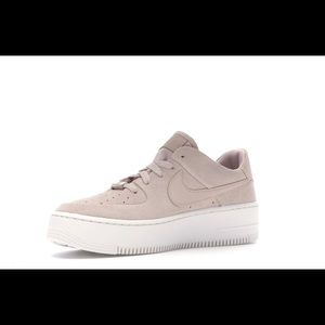 Air Force 1 Sude Pink Nike's
